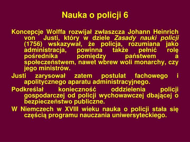 Nauka o policji 6