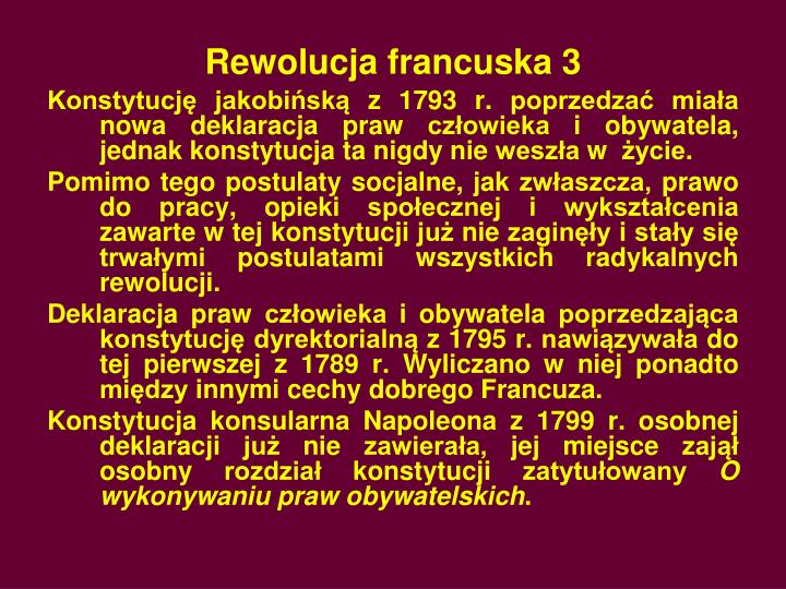 Rewolucja francuska 3