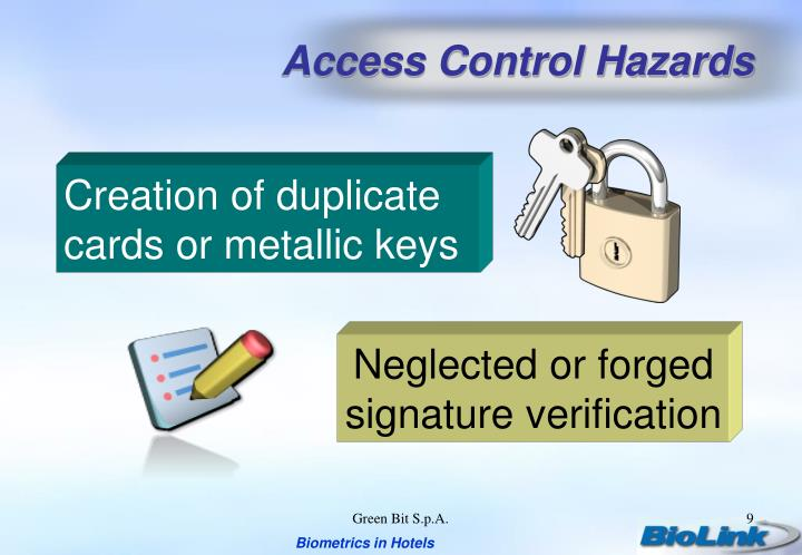 Access Control Hazards