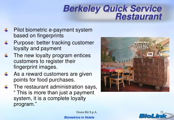 Berkeley Quick Service