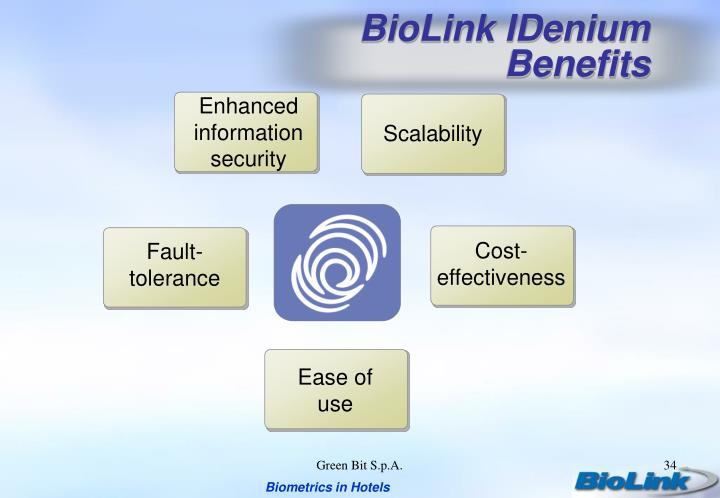 BioLink IDenium