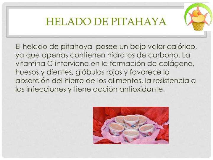 HELADO DE PITAHAYA