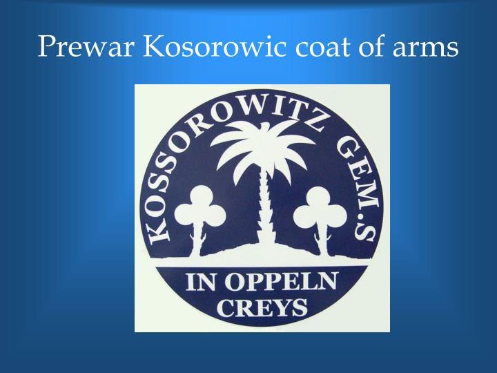 Prewar Kosorowic