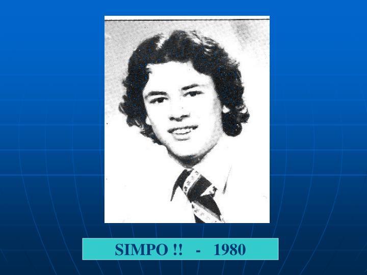SIMPO !!   -   1980