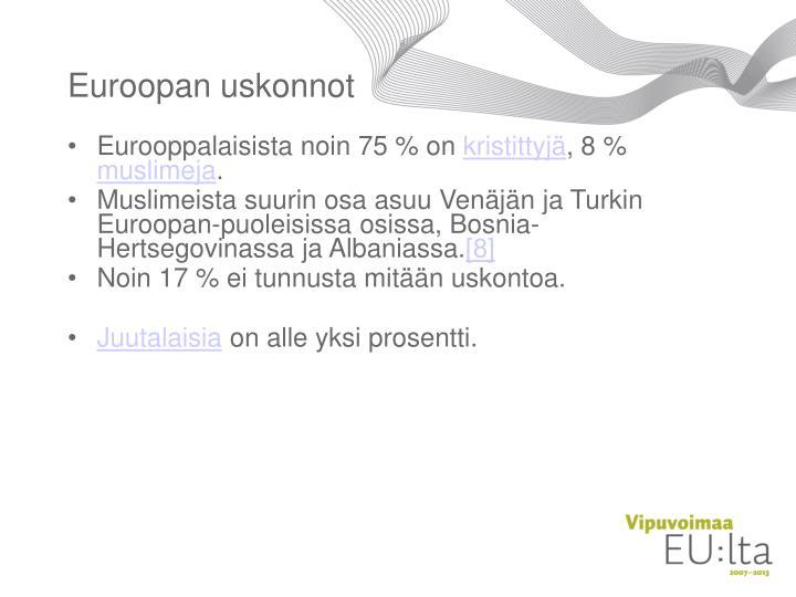 Euroopan uskonnot