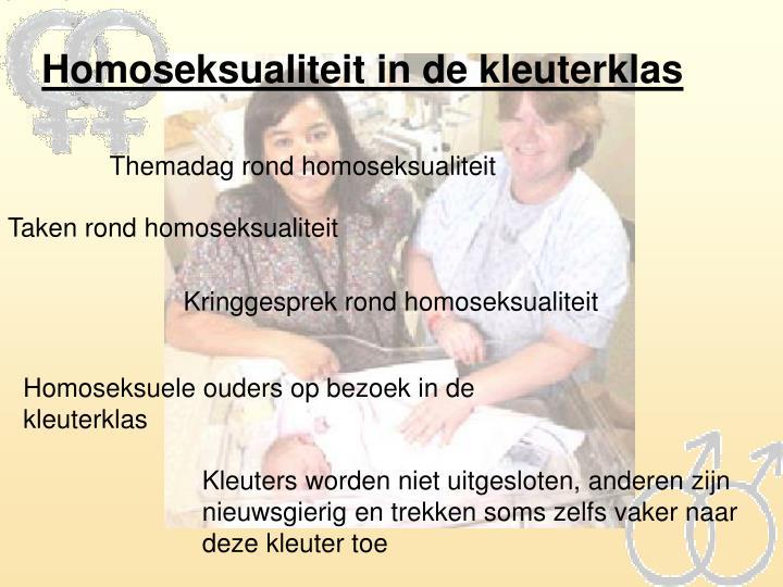 Homoseksualiteit in de kleuterklas