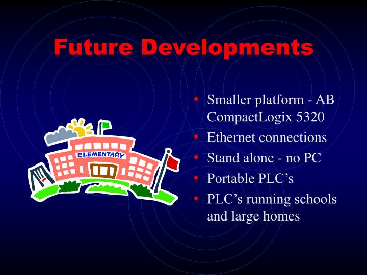 Future Developments