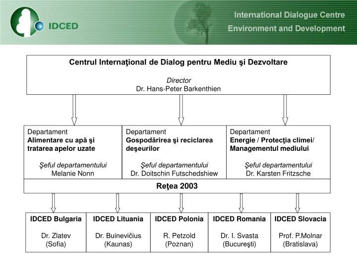 Centrul Internaţional de Dialog pentru Mediu şi Dezvoltare