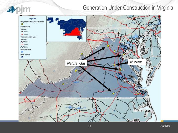 Generation Under Construction in Virginia