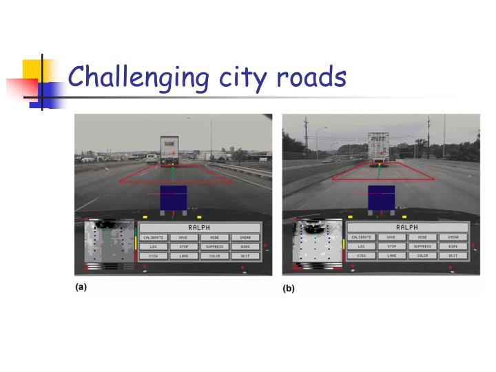 Challenging city roads