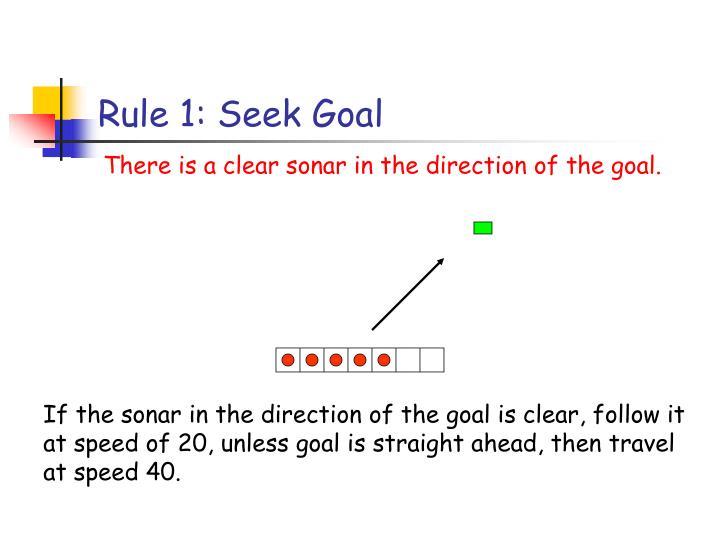 Rule 1: Seek Goal