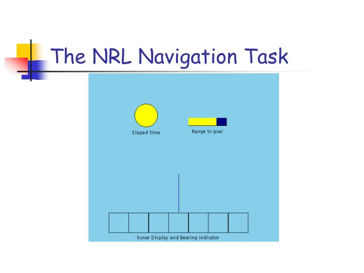 The NRL Navigation Task