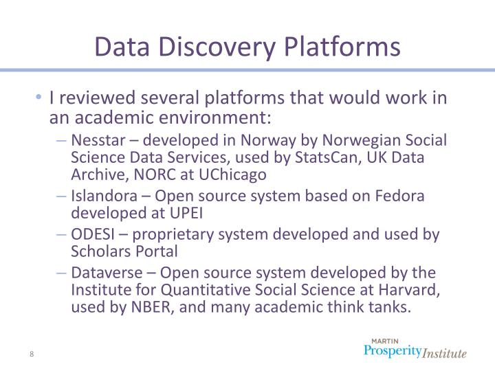 Data Discovery Platforms