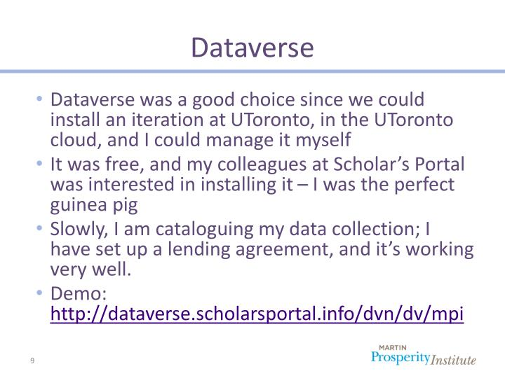 Dataverse