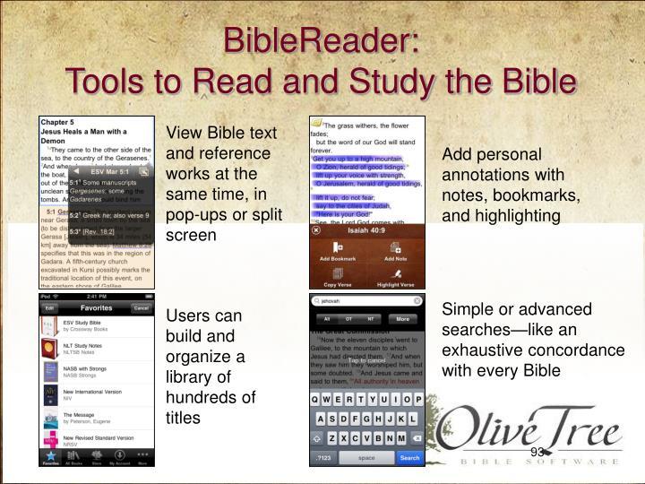 BibleReader: