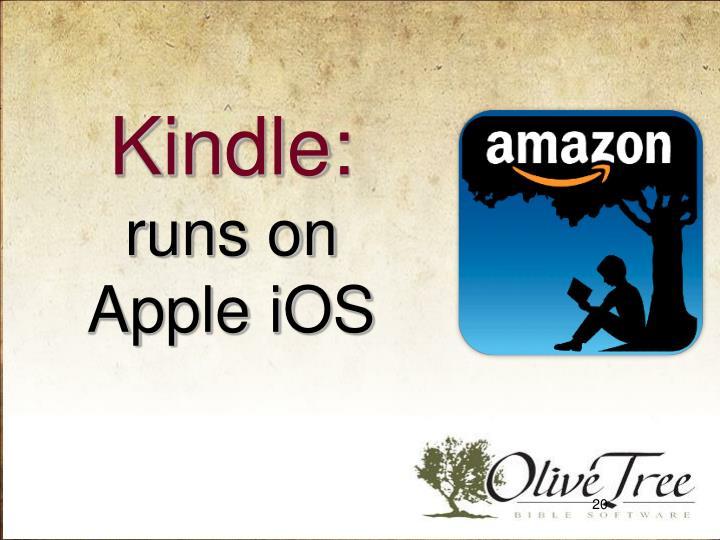 Kindle:
