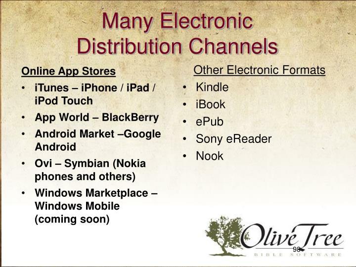 Many Electronic