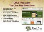 olivetree com the olive tree book store