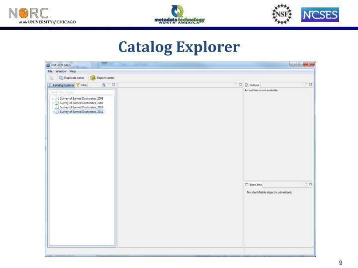 Catalog Explorer