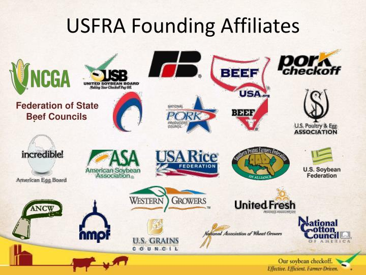 USFRA Founding Affiliates