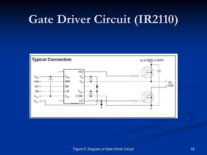 Gate Driver Circuit (IR2110)