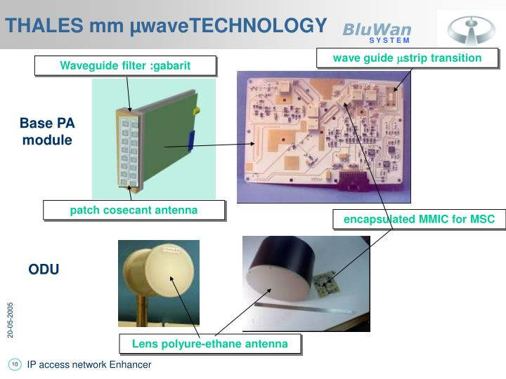 THALES mm µwaveTECHNOLOGY