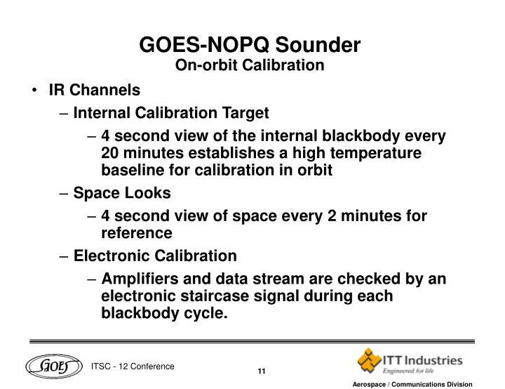 GOES-NOPQ Sounder
