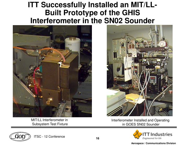 MIT/LL Interferometer in