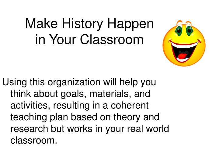 Make History Happen