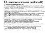 2 3 lan kontratu izaera juridikoa iii