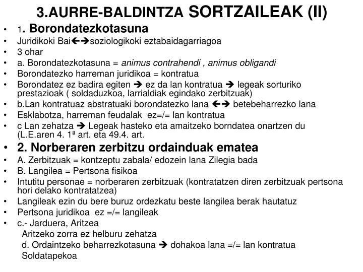 3.AURRE-BALDINTZA