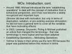 mos introduction cont