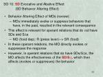 so 10 sd evocative and abative effect sd behavior altering effect