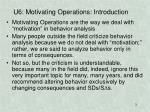 u6 motivating operations introduction