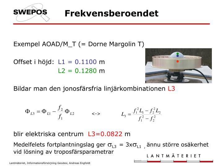 Exempel AOAD/M_T (= Dorne Margolin T)