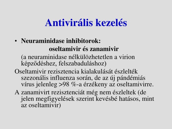 Antivirális kezelés