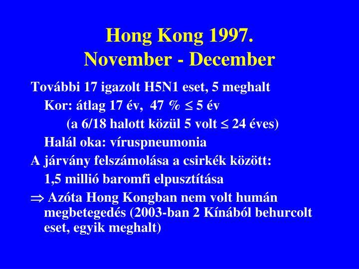 Hong Kong 1997.