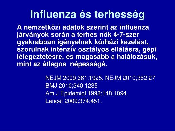 Influenza és terhesség