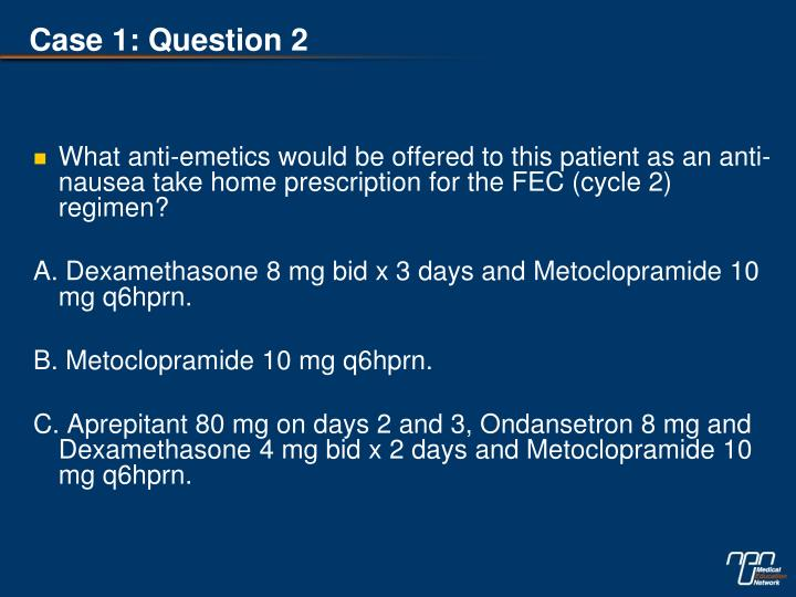 Case 1: Question 2
