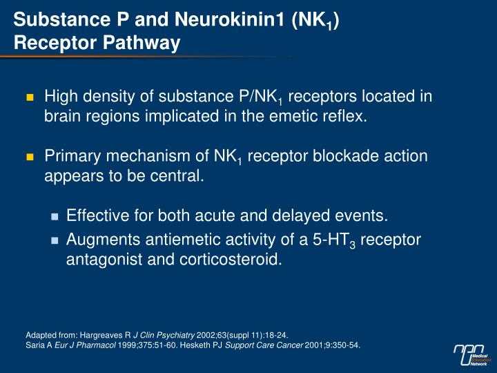 Substance P and Neurokinin