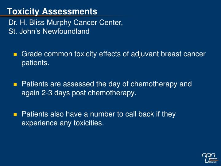 Toxicity Assessments