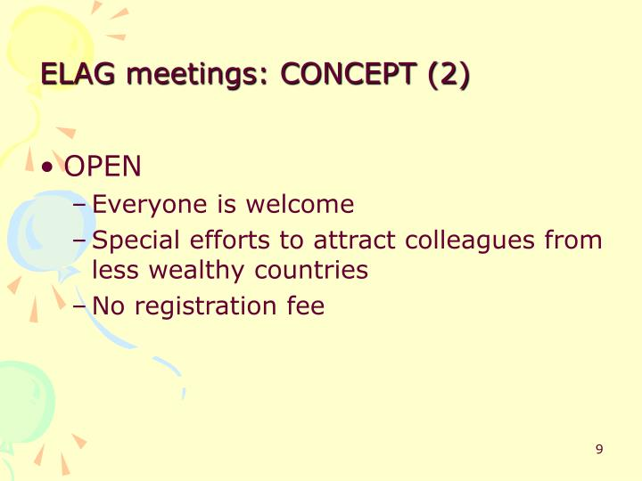 ELAG meetings: CONCEPT (2)