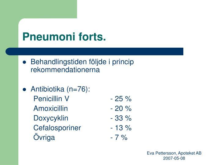 Pneumoni forts.