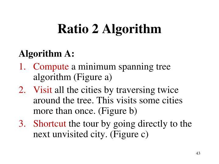 Ratio 2 Algorithm