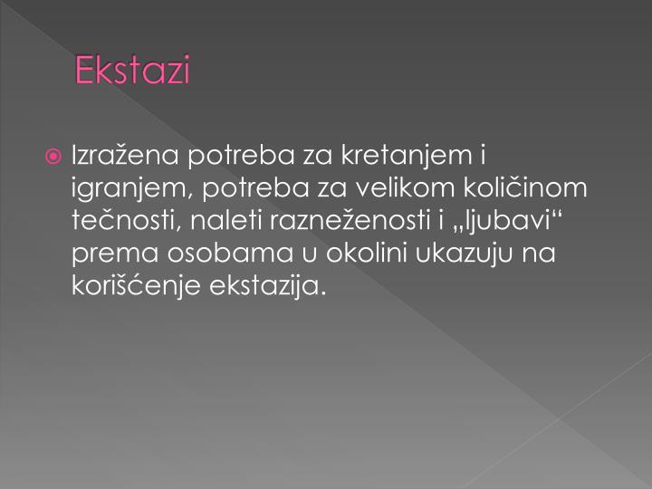 Ekstazi