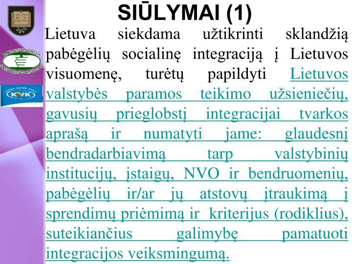 SIŪLYMAI (1)