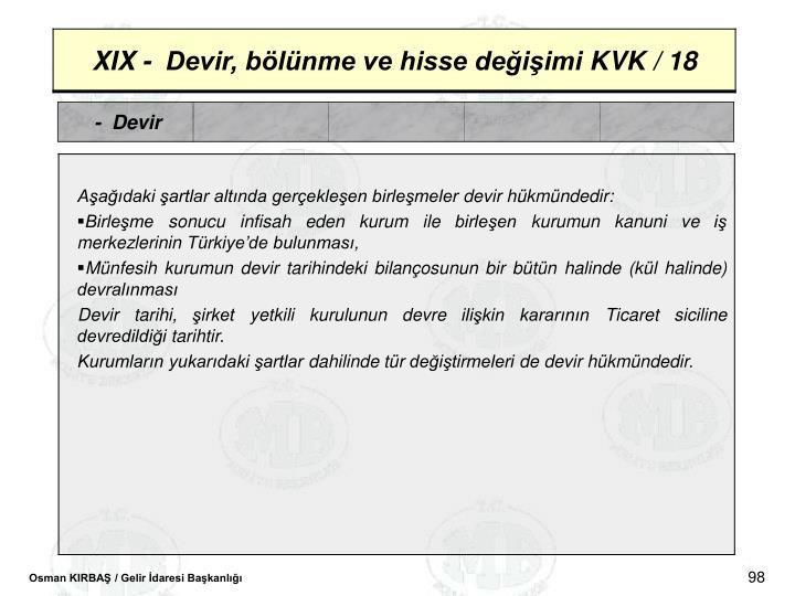 -  Devir