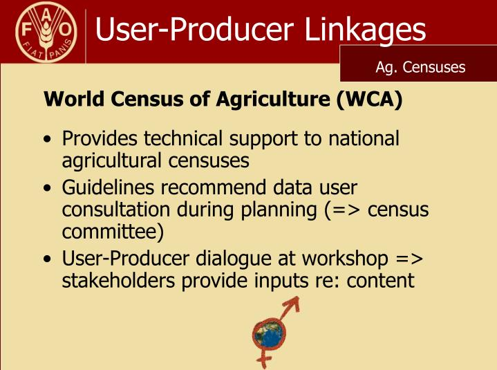 User producer linkages