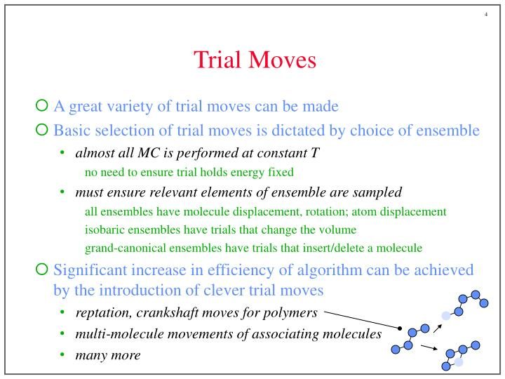 Trial Moves