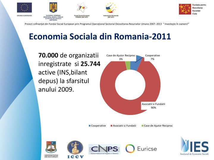 Economia Sociala din Romania-2011